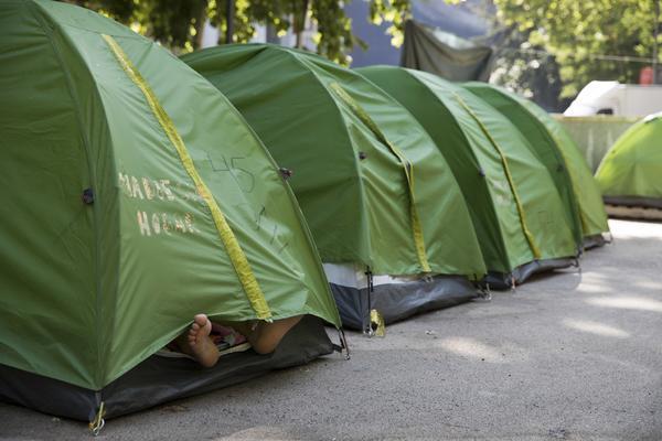 Campamento Sin techo 4