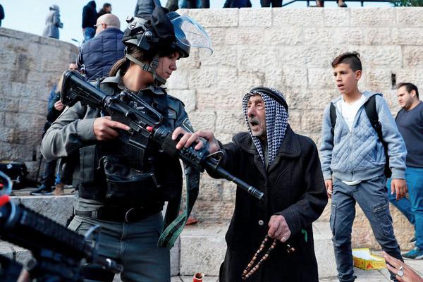 Palestina Jerusalem Día de Furia
