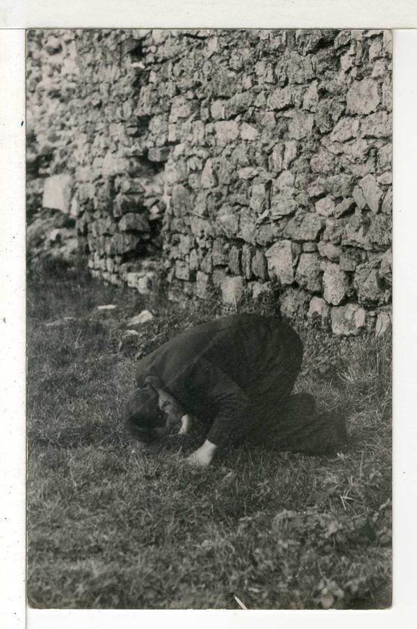Un ciudadano arrolliado ante el paredón, Asturias 1934