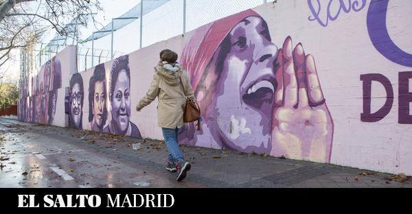 El Ayuntamiento de Madrid borrará un mural feminista a petición de Vox