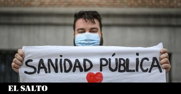La sanidad pública se moviliza en 60 ciudades de todo el Estado